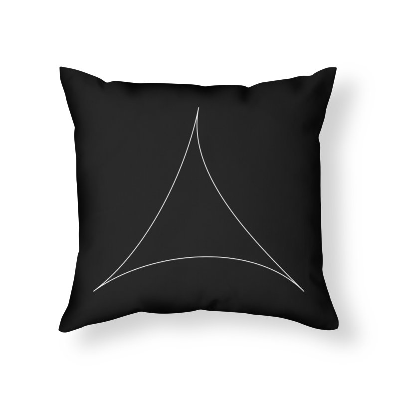 Volume 2.9.07—Pseudotriangle Home Throw Pillow by Iterative Work