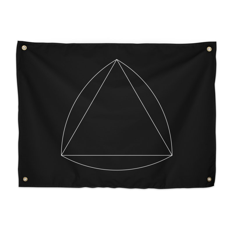 Volume 2.9.08—Reuleaux Triangle Home Tapestry by Iterative Work