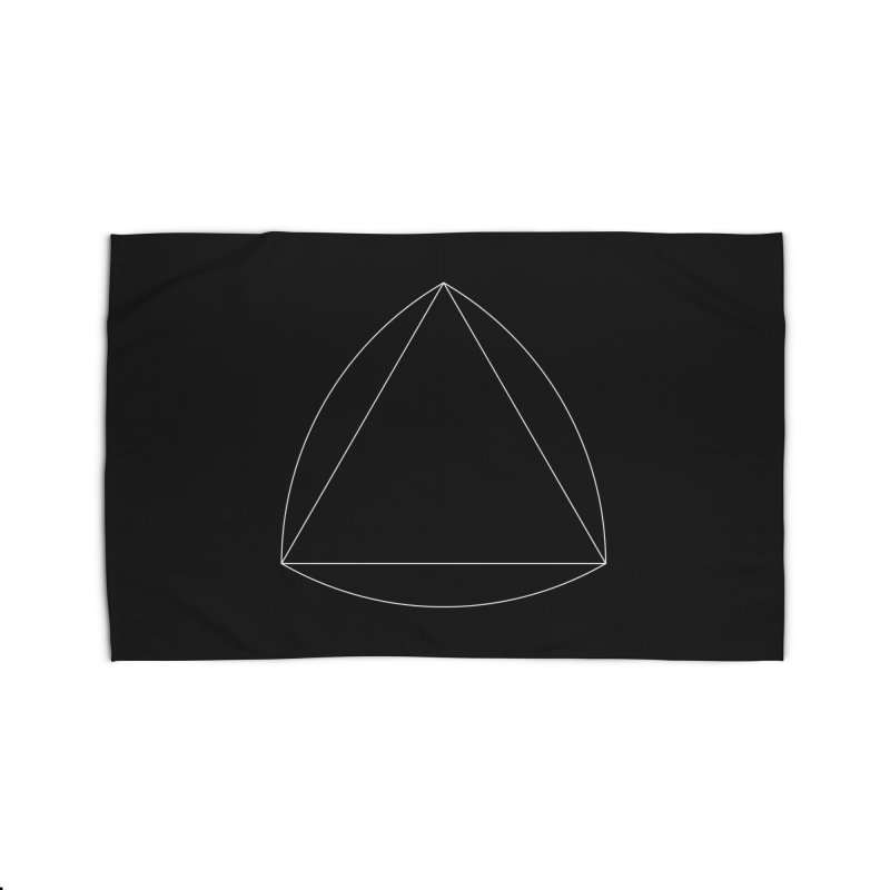 Volume 2.9.08—Reuleaux Triangle Home Rug by Iterative Work