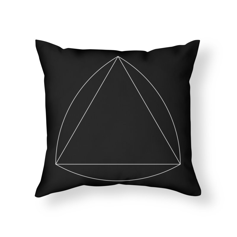 Volume 2.9.08—Reuleaux Triangle Home Throw Pillow by Iterative Work