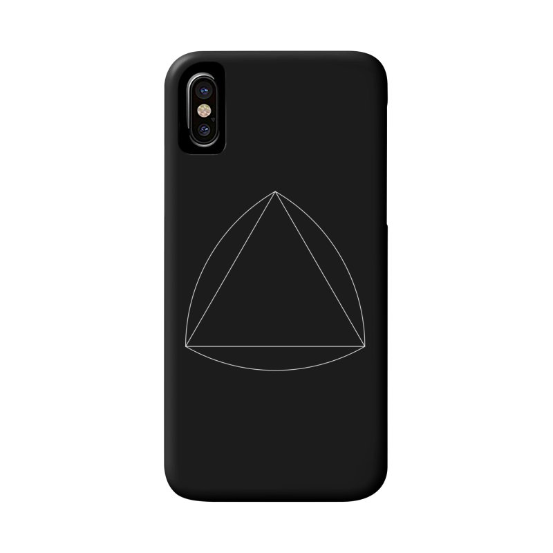 Volume 2.9.08—Reuleaux Triangle Accessories Phone Case by Iterative Work