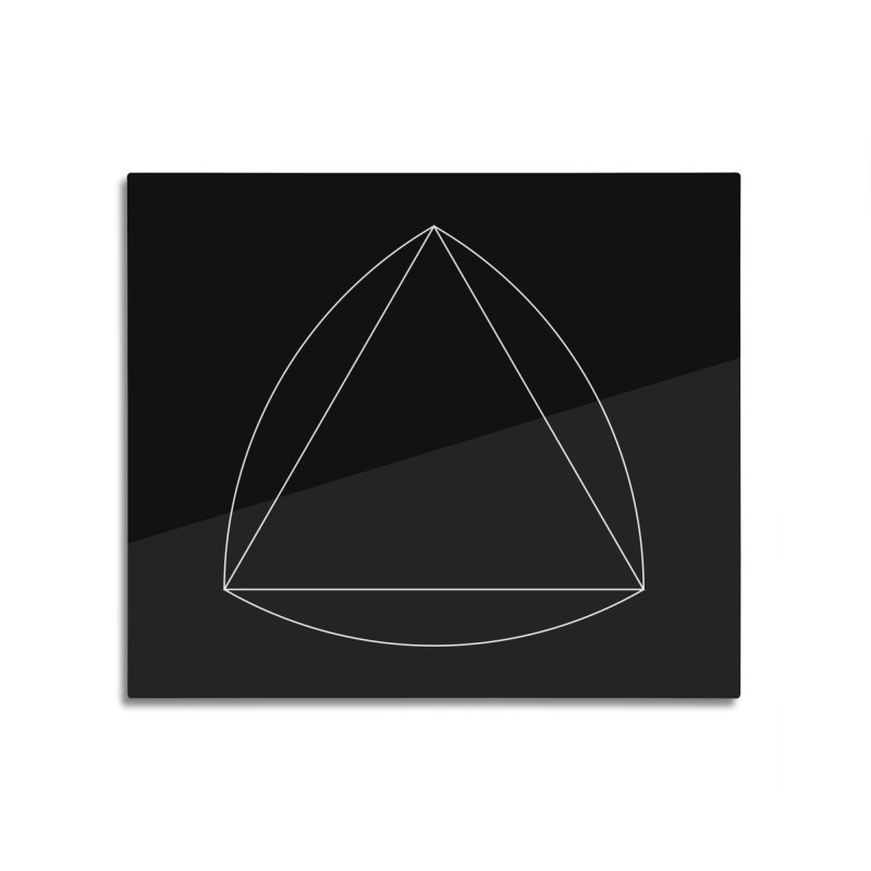 Volume 2.9.08—Reuleaux Triangle Home Mounted Acrylic Print by Iterative Work