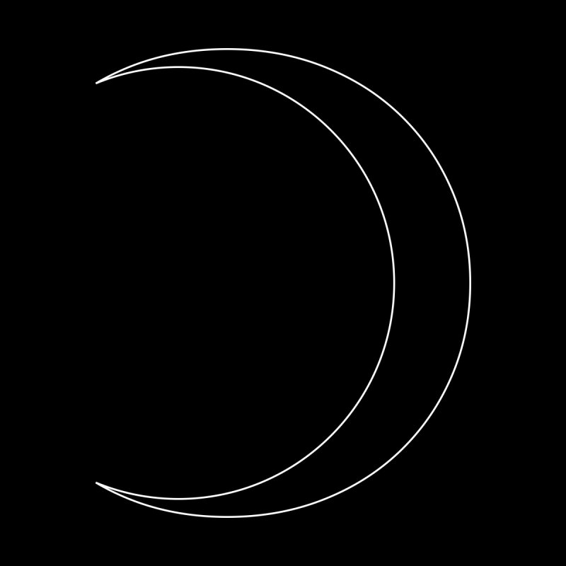 Volume 2.9.09—Crescent Home Tapestry by Iterative Work