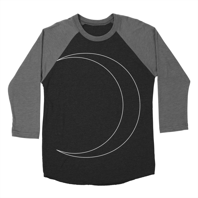 Volume 2.9.09—Crescent Men's Baseball Triblend Longsleeve T-Shirt by Iterative Work