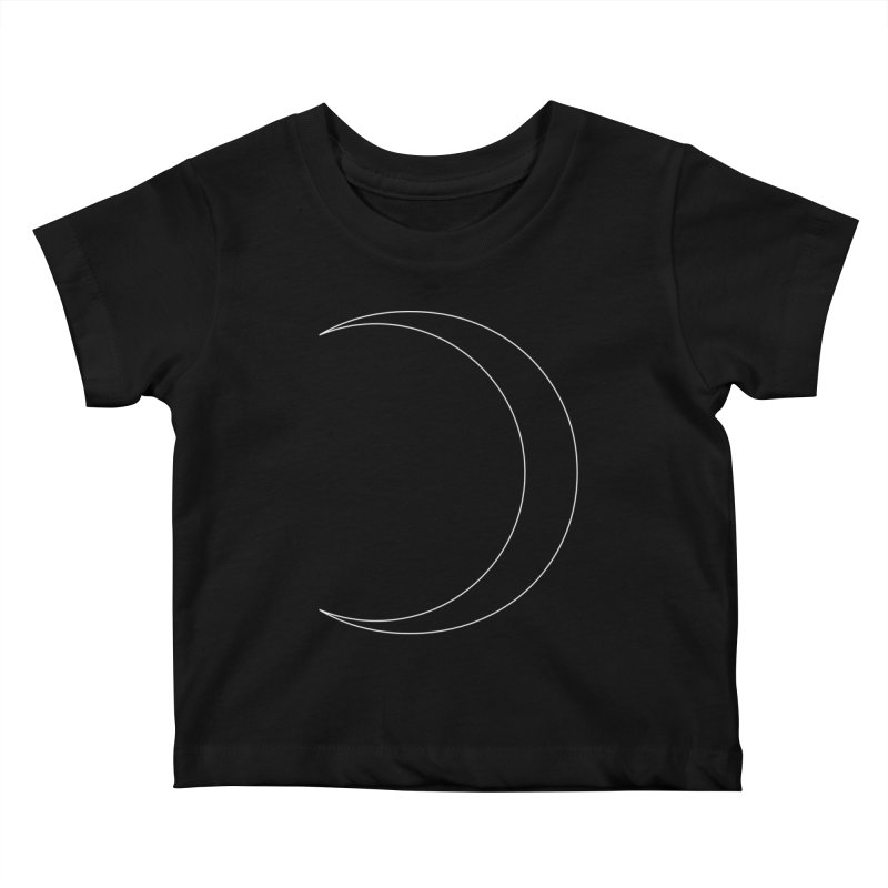 Volume 2.9.09—Crescent Kids Baby T-Shirt by Iterative Work