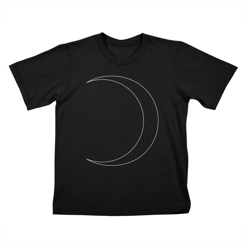 Volume 2.9.09—Crescent Kids T-Shirt by Iterative Work