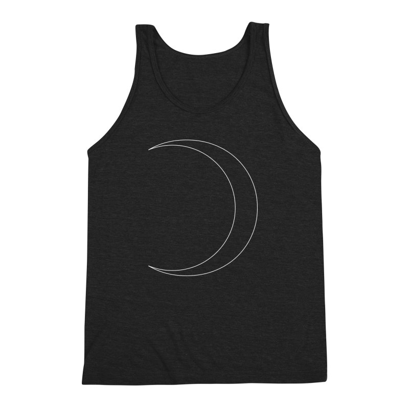 Volume 2.9.09—Crescent Men's Triblend Tank by Iterative Work