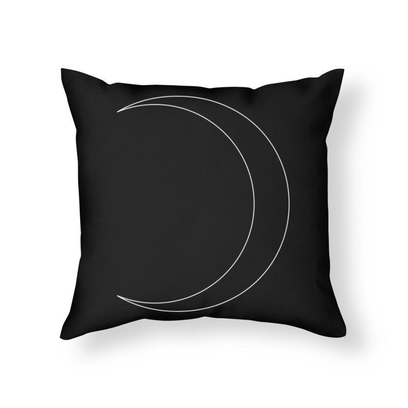 Volume 2.9.09—Crescent Home Throw Pillow by Iterative Work