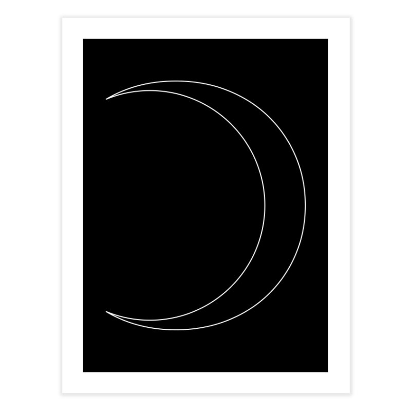 Volume 2.9.09—Crescent Home Fine Art Print by Iterative Work