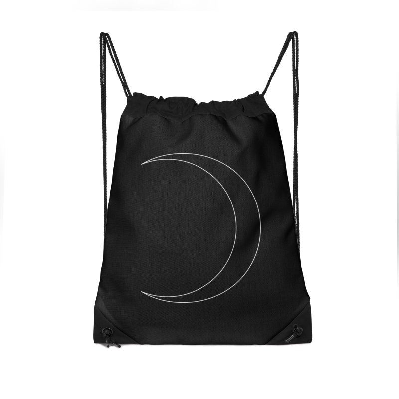 Volume 2.9.09—Crescent Accessories Drawstring Bag Bag by Iterative Work