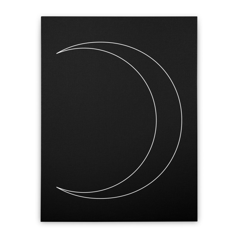 Volume 2.9.09—Crescent Home Stretched Canvas by Iterative Work