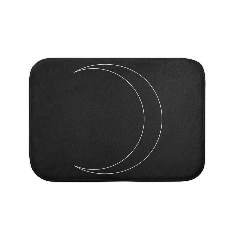 Volume 2.9.09—Crescent Home Bath Mat by Iterative Work