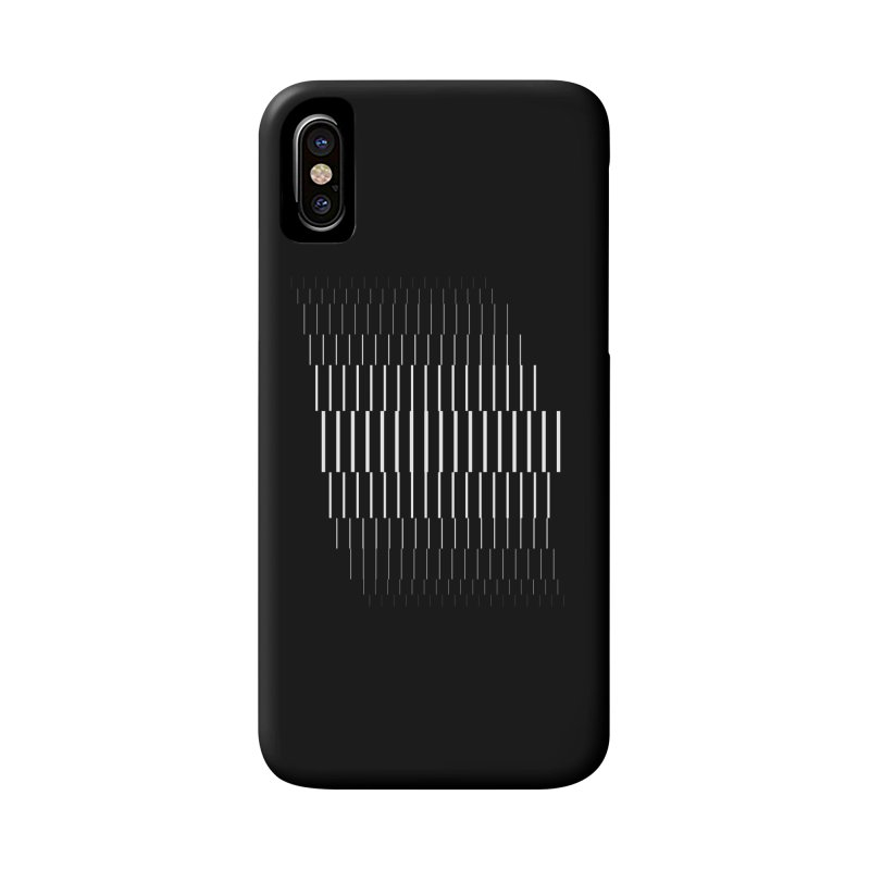 Line Study- Volume 2.2 in iPhone X / XS Phone Case Slim by Iterative Work