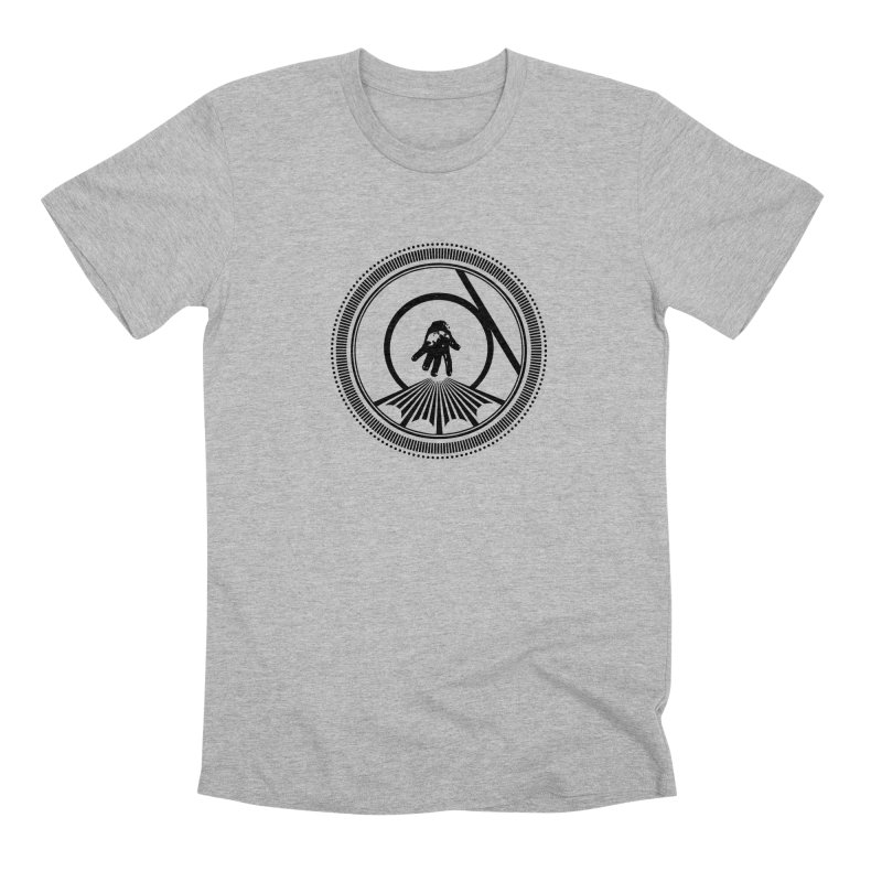 Save the Tangent (black ink) Men's T-Shirt by Interdimensional Transmissions