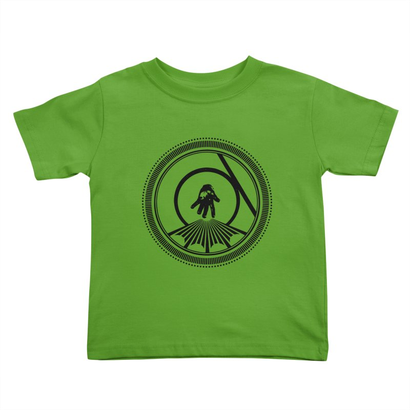 Save the Tangent (black ink) Kids Toddler T-Shirt by Interdimensional Transmissions