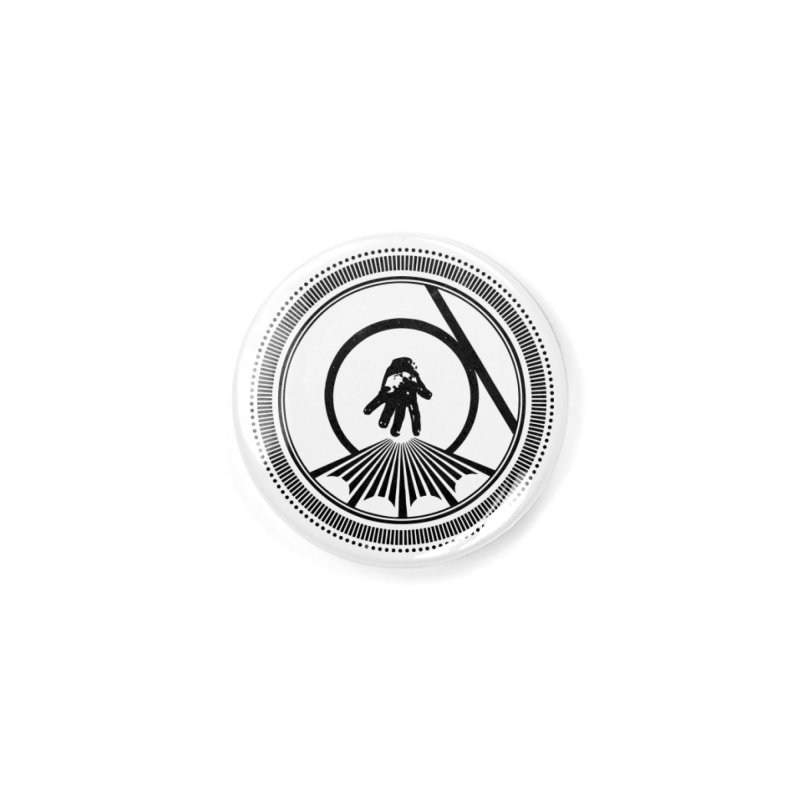 Save the Tangent (black ink) Accessories Button by Interdimensional Transmissions