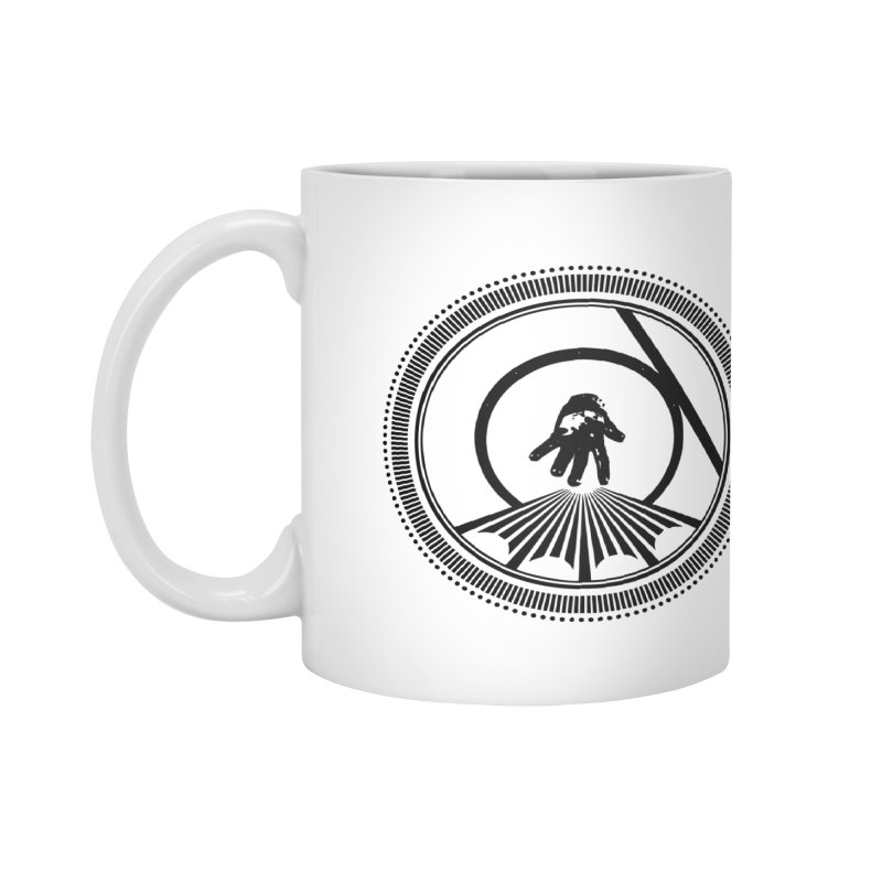 Save the Tangent (black ink) Accessories Mug by Interdimensional Transmissions