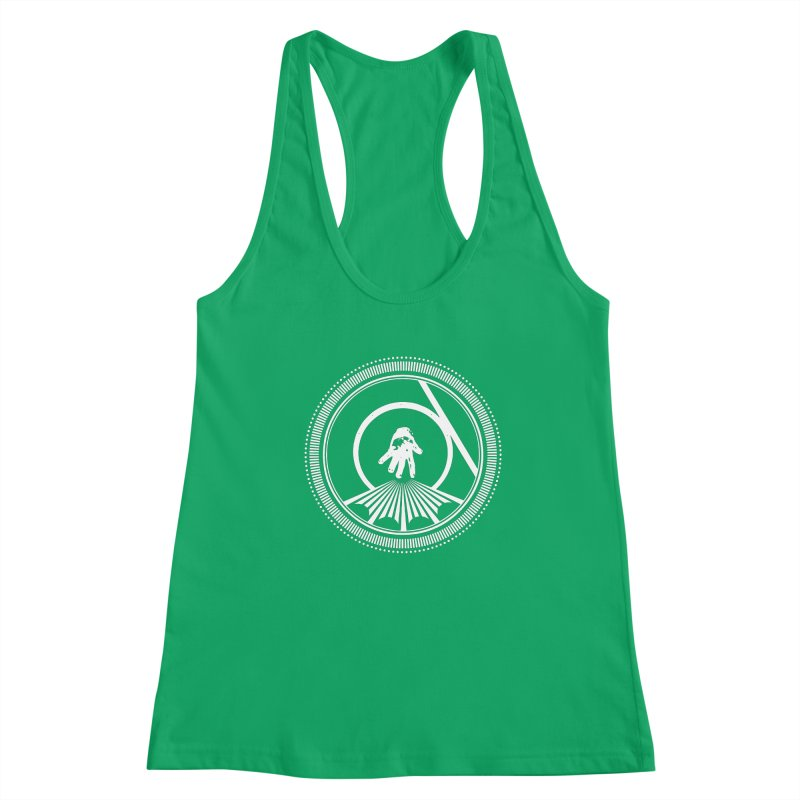 Save the Tangent (white ink) Women's Tank by Interdimensional Transmissions