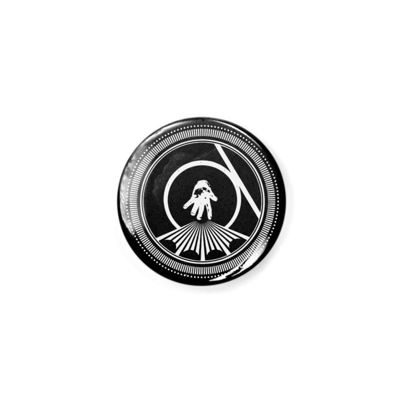 Save the Tangent (white ink) Accessories Button by Interdimensional Transmissions