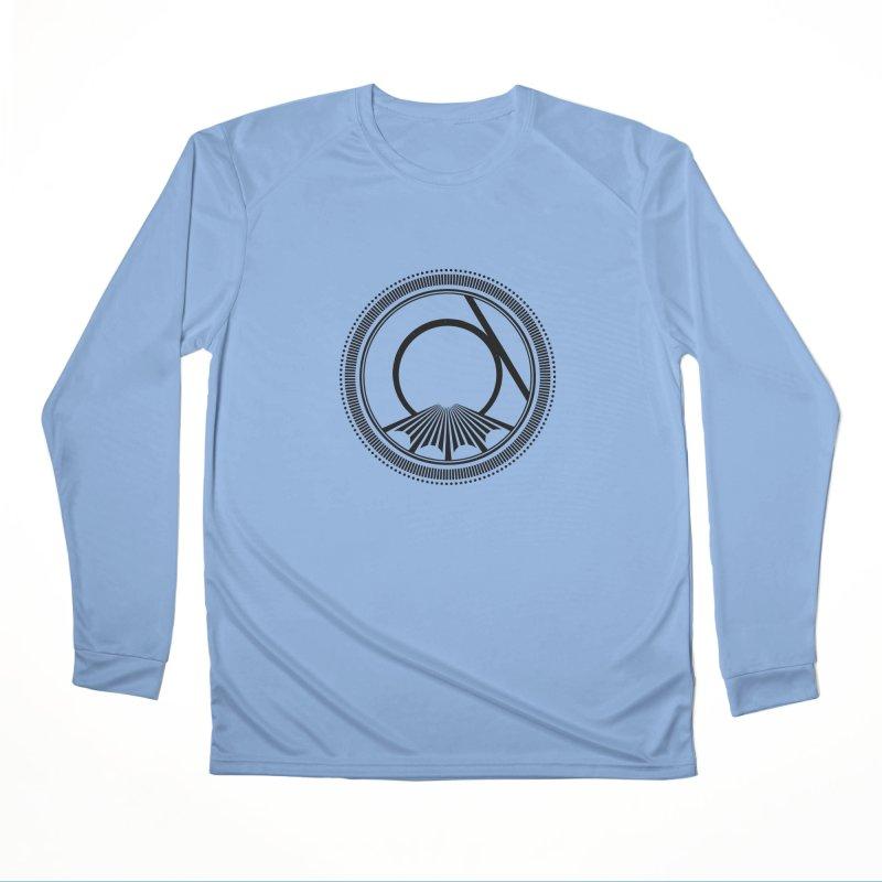 Tangent Logo (black ink) Women's Longsleeve T-Shirt by Interdimensional Transmissions