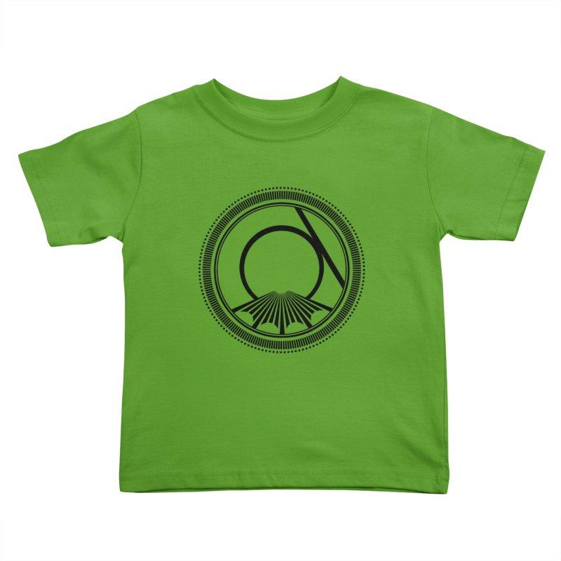 Tangent Logo (black ink) Kids Toddler T-Shirt by Interdimensional Transmissions