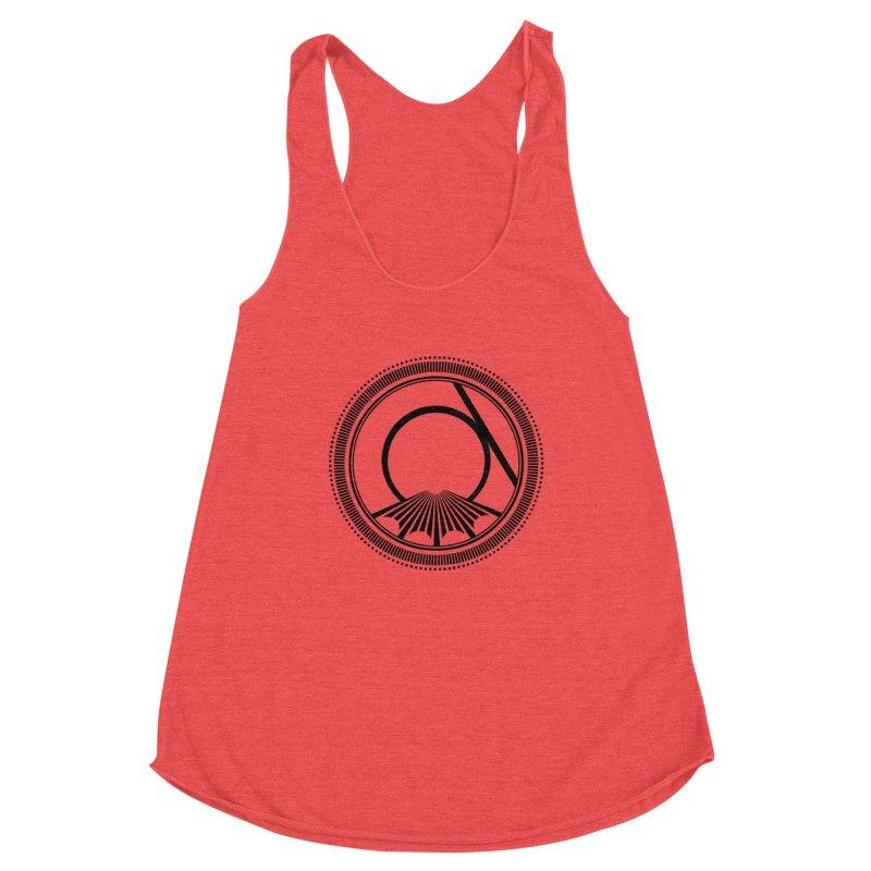 Tangent Logo (black ink) Women's Tank by Interdimensional Transmissions