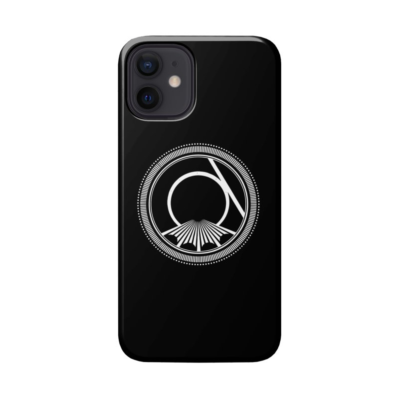 Tangent Logo (white ink) Accessories Phone Case by Interdimensional Transmissions