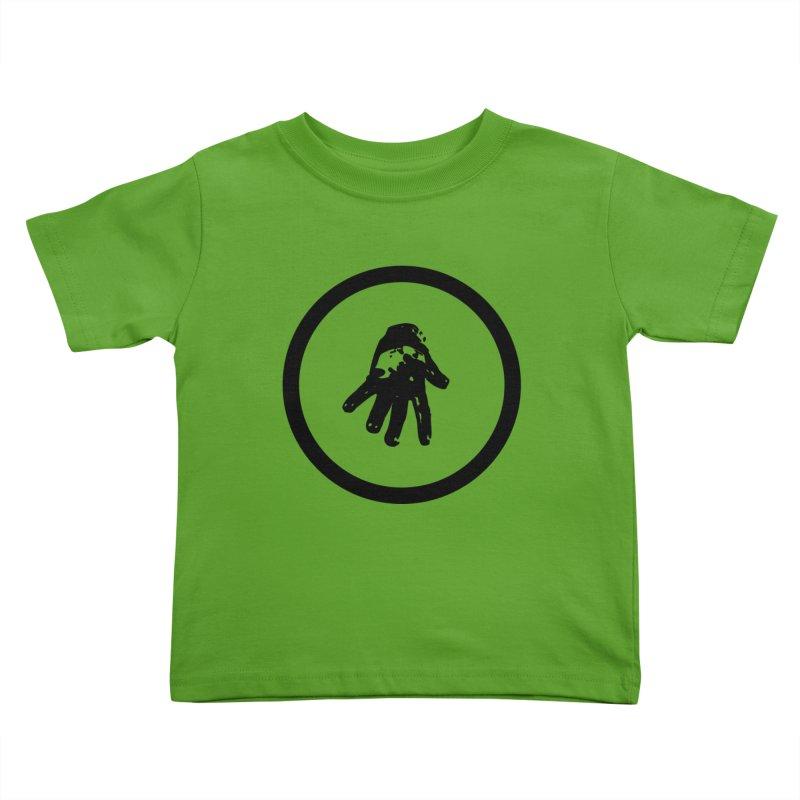 IT Logo (black ink) Kids Toddler T-Shirt by Interdimensional Transmissions
