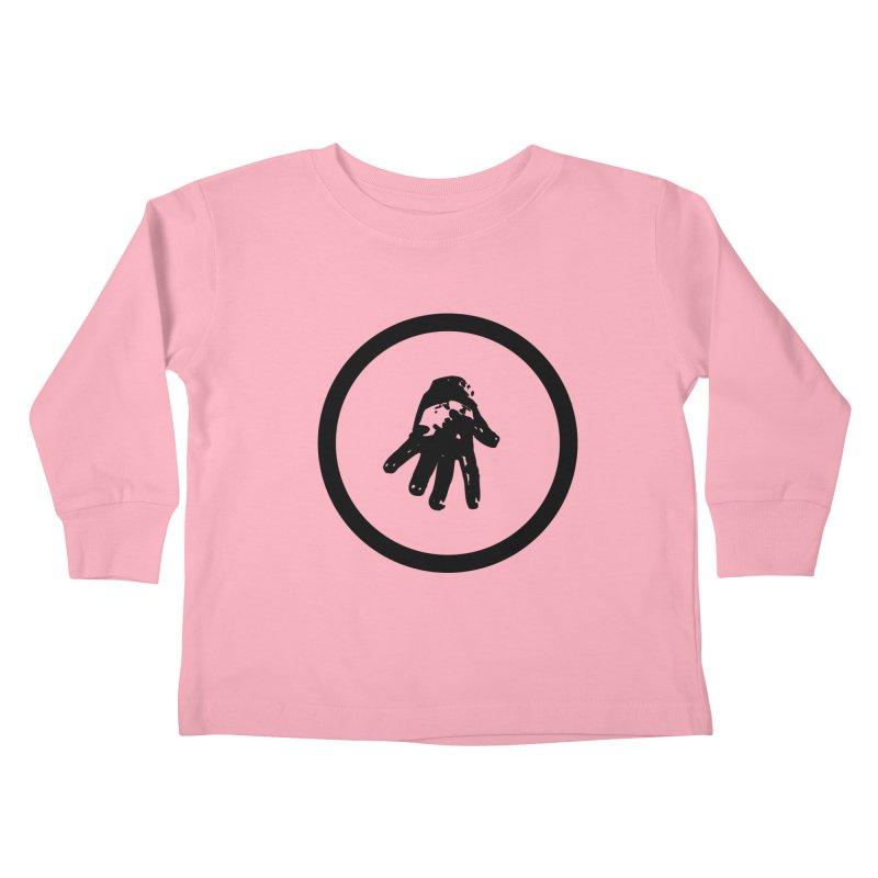 IT Logo (black ink) Kids Toddler Longsleeve T-Shirt by Interdimensional Transmissions