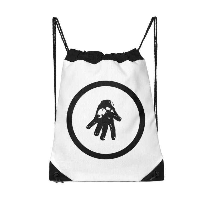IT Logo (black ink) Accessories Bag by Interdimensional Transmissions