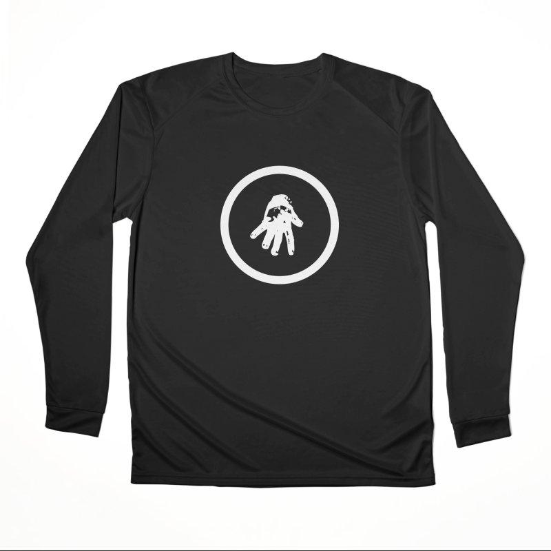 IT Logo (white ink) Women's Longsleeve T-Shirt by Interdimensional Transmissions