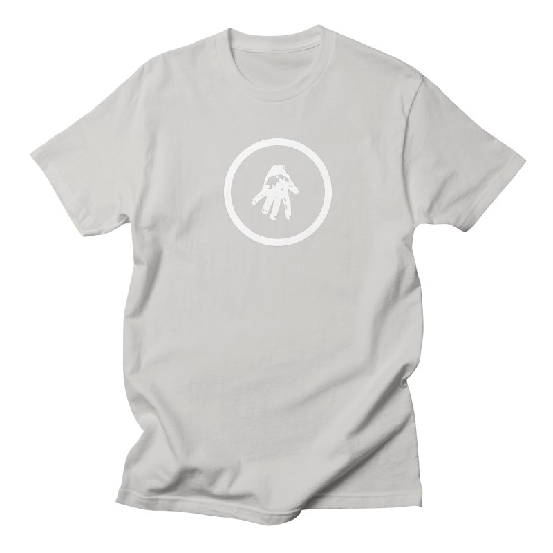 IT Logo (white ink) Men's T-Shirt by Interdimensional Transmissions