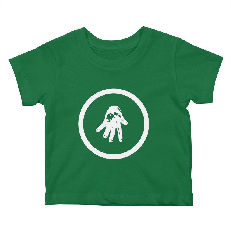IT Logo (white ink) Kids Baby T-Shirt by Interdimensional Transmissions