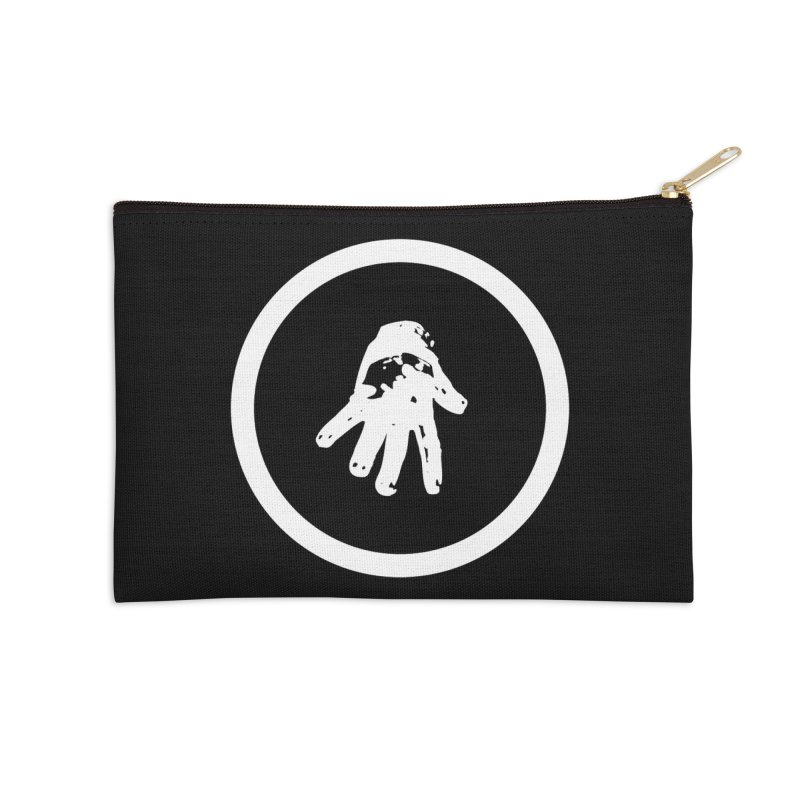 IT Logo (white ink) Accessories Zip Pouch by Interdimensional Transmissions