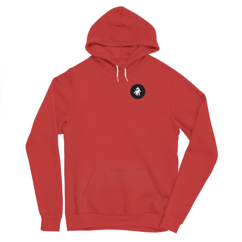 IT Polo (black ink) Women's Pullover Hoody by Interdimensional Transmissions