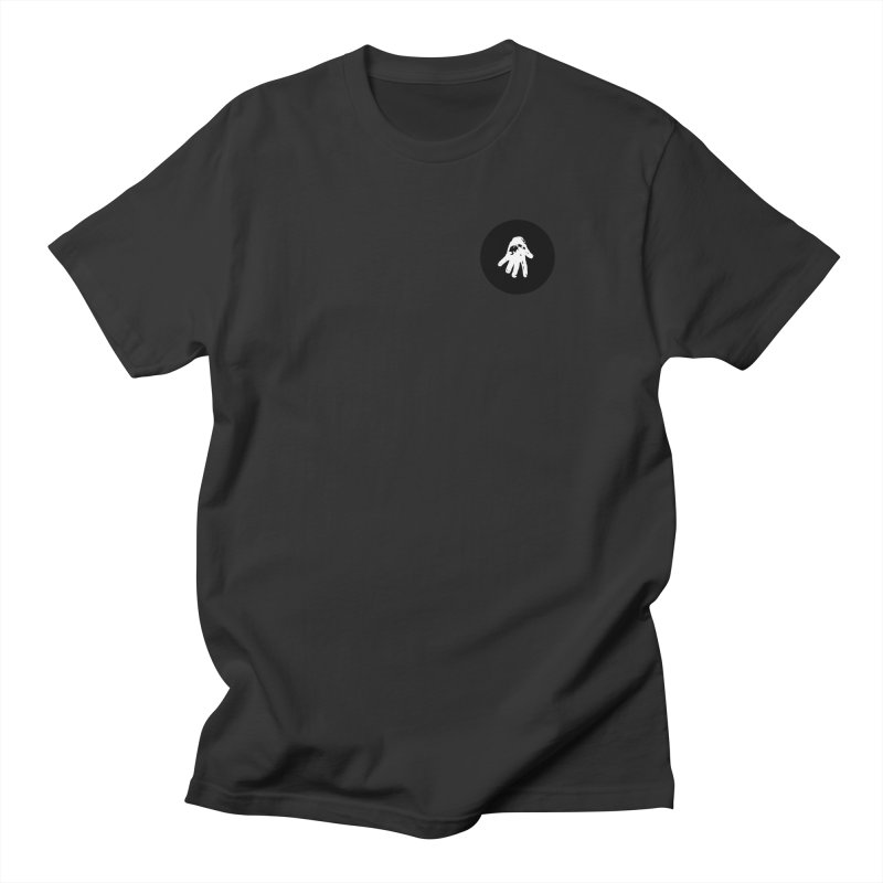IT Polo (black ink) Men's T-Shirt by Interdimensional Transmissions