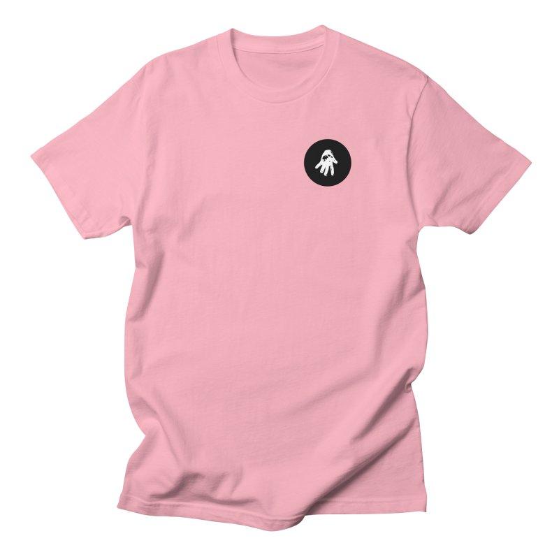 IT Polo (black ink) Men's T-Shirt by Interdimensional Transmissions