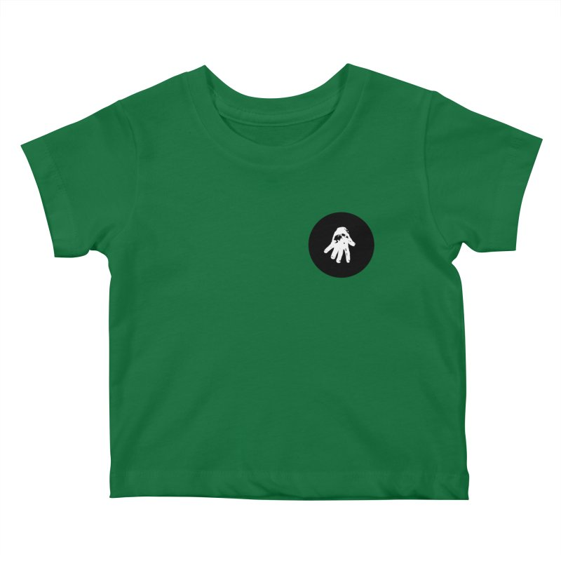 IT Polo (black ink) Kids Baby T-Shirt by Interdimensional Transmissions
