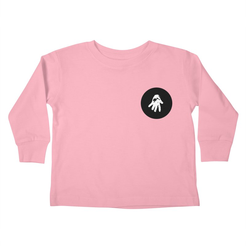 IT Polo (black ink) Kids Toddler Longsleeve T-Shirt by Interdimensional Transmissions