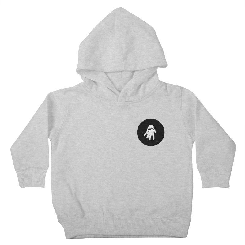 IT Polo (black ink) Kids Toddler Pullover Hoody by Interdimensional Transmissions