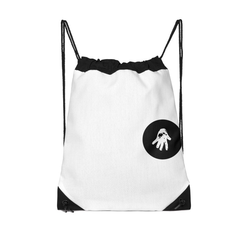 IT Polo (black ink) Accessories Bag by Interdimensional Transmissions