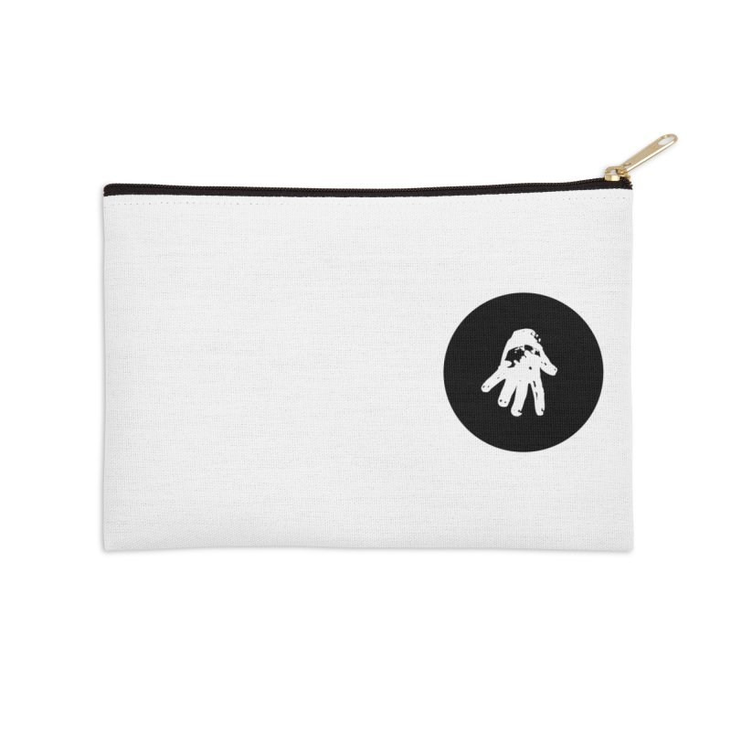 IT Polo (black ink) Accessories Zip Pouch by Interdimensional Transmissions