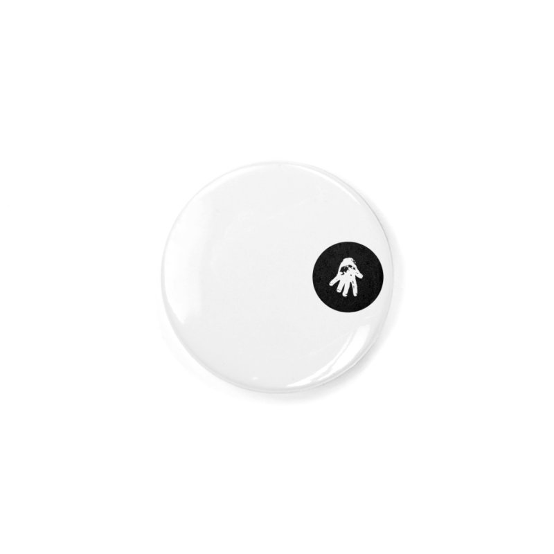 IT Polo (black ink) Accessories Button by Interdimensional Transmissions