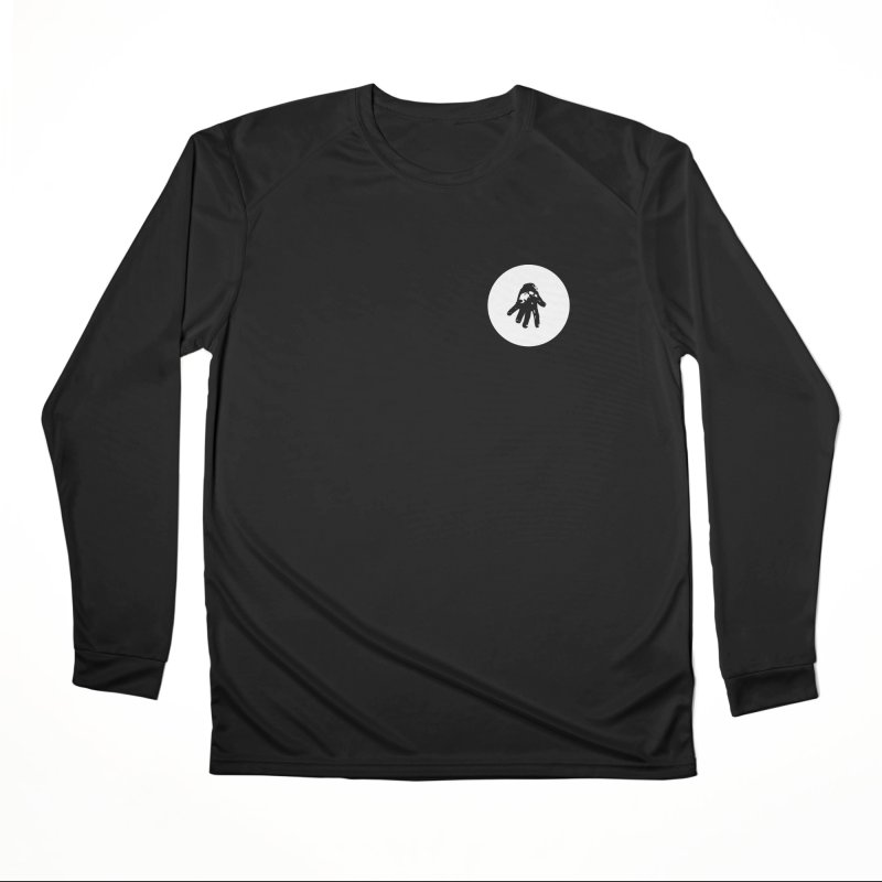 IT Polo (white ink) Men's Longsleeve T-Shirt by Interdimensional Transmissions