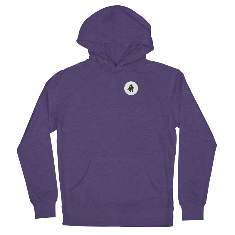 IT Polo (white ink) Men's Pullover Hoody by Interdimensional Transmissions