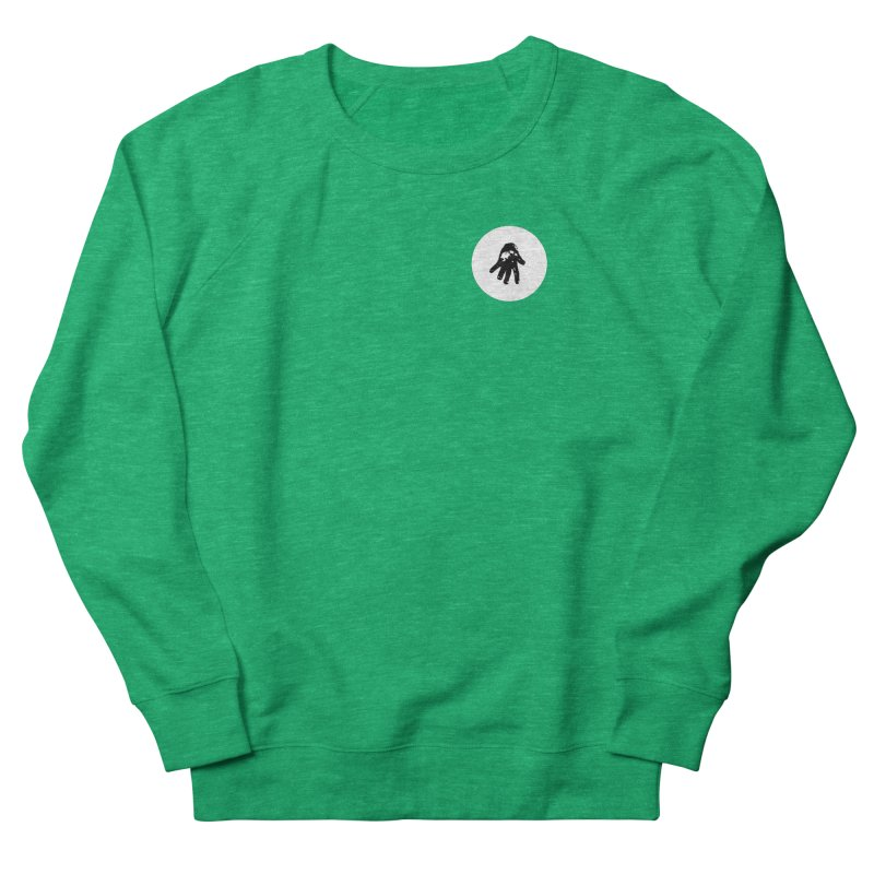 IT Polo (white ink) Women's Sweatshirt by Interdimensional Transmissions