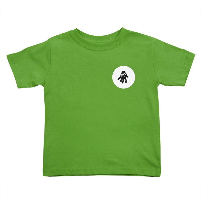 IT Polo (white ink) Kids Toddler T-Shirt by Interdimensional Transmissions