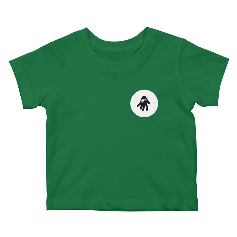 IT Polo (white ink) Kids Baby T-Shirt by Interdimensional Transmissions