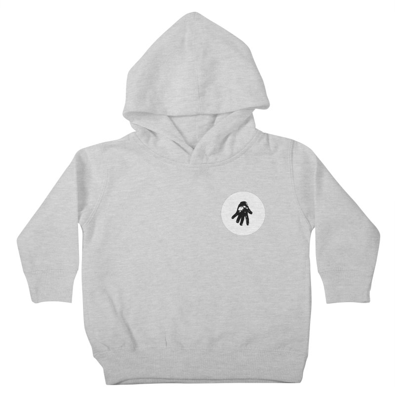 IT Polo (white ink) Kids Toddler Pullover Hoody by Interdimensional Transmissions