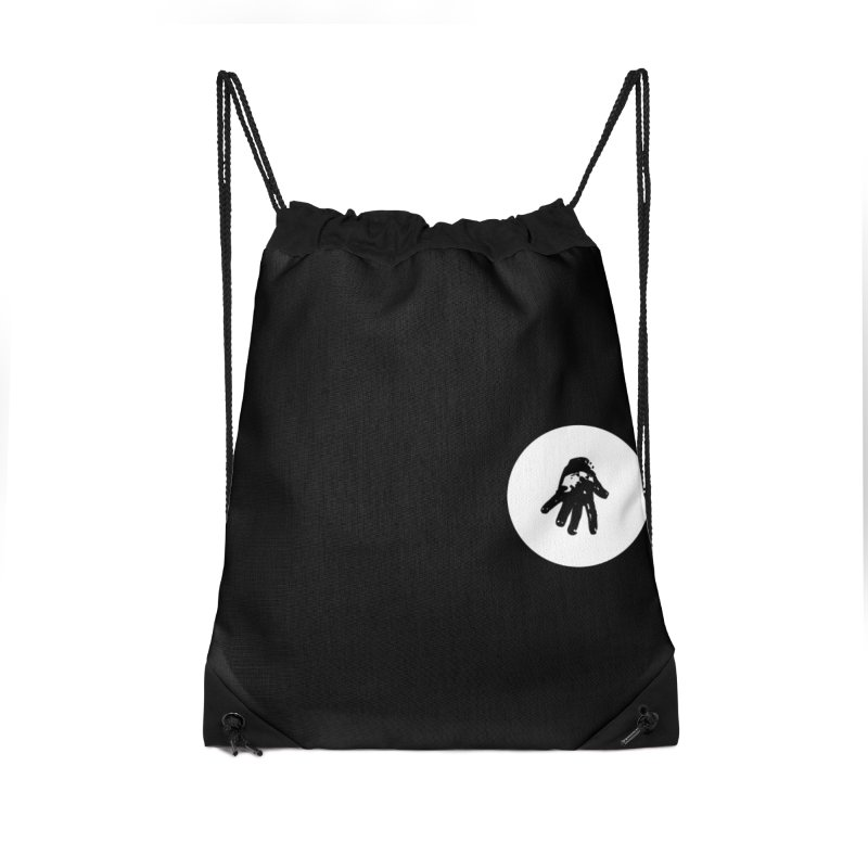 IT Polo (white ink) Accessories Bag by Interdimensional Transmissions